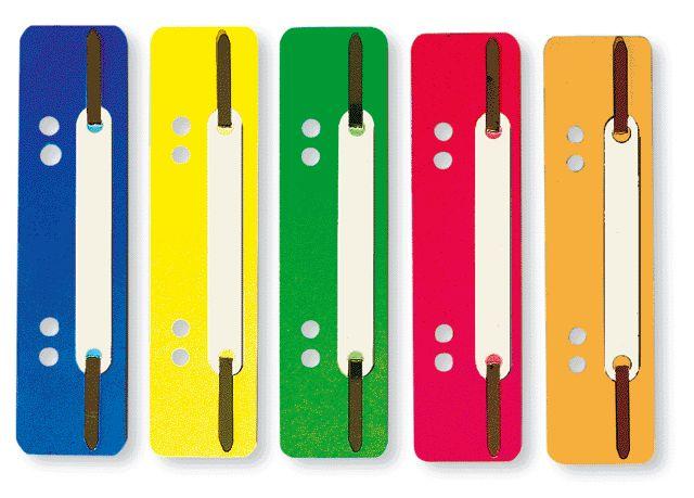 Heftstreifen  Heftstreifen kurz aus Plastik, sortiert im 250er-Karton ...