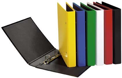 ringbuch a5 mit 2 b gel und niederhalter schwarz ringbuch sortieren und ordnen. Black Bedroom Furniture Sets. Home Design Ideas